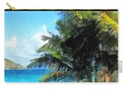 Caribbean - Palm Trees And Beach St. Thomas Vi Carry-all Pouch