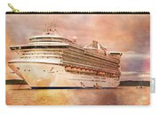 Caribbean Princess In A Different Light Carry-all Pouch by Betsy Knapp