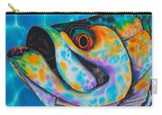 Caribbean Tarpon Fish Carry-all Pouch