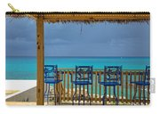 Caribbean View-island Grill Grand Cayman Carry-all Pouch