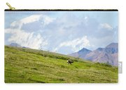 Caribou And Mount Mckinley Carry-all Pouch