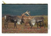 Caribou Males Sparring Carry-all Pouch by Matthias Breiter