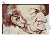 Caricature Of Richard Wagner Carry-all Pouch by Anonymous