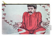 Caricature Of Stalin Carry-all Pouch