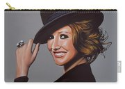 Carice Van Houten Painting Carry-all Pouch