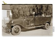 Carmel Fire Department Engine No. 3  Circa 1933 Carry-all Pouch