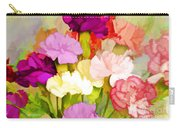 Carnation Bouquet Carry-all Pouch