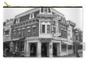 Carnation Cafe Main Street Disneyland Bw Carry-all Pouch