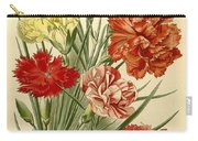 Carnations Carry-all Pouch by Philip Ralley