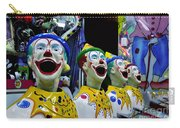 Carnival Clowns Carry-all Pouch by Kaye Menner
