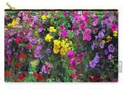 Carnival Flowers Carry-all Pouch