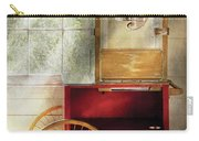 Carnival - The Popcorn Cart Carry-all Pouch by Mike Savad