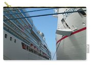 Carnival Triumph In Port Carry-all Pouch