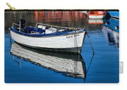 Carol June At Lyme Regis Harbour Carry-all Pouch