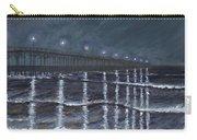 Carolina Beach Pier By Night Carry-all Pouch