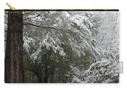 Carolina Snowfall Carry-all Pouch