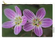 Carolina Spring Beauty Duo Carry-all Pouch