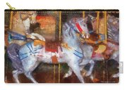 Carousel Horse Photo Art 02 Carry-all Pouch