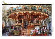 Carousel In Avignon Carry-all Pouch