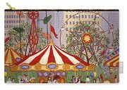 Carousel In City Park Carry-all Pouch