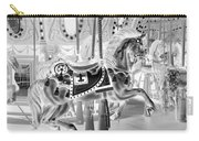 Carousel In Negative 3 Carry-all Pouch