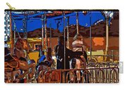 Carousel Line Art Carry-all Pouch