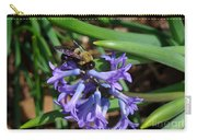 Carpenter On Hyacinth Carry-all Pouch