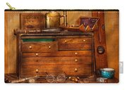 Carpentry - Tools - In My Younger Days  Carry-all Pouch by Mike Savad