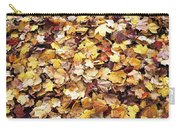 Carpet Of Leafs Carry-all Pouch