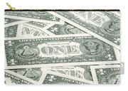 Carpet Of One Dollar Bills Carry-all Pouch