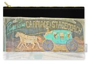 Carriage And Stagecoach Color Invert Carry-all Pouch