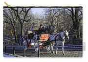 Carriage Driver - Central Park - Nyc Carry-all Pouch