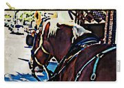 Carriage Horse Carry-all Pouch