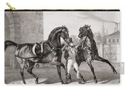 Carriage Horses For The King Carry-all Pouch