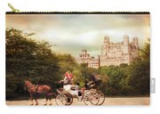Carriage Ride In Central Park Carry-all Pouch