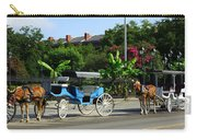 Carriage Tours New Orleans Carry-all Pouch