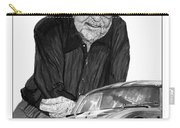 Carroll Shelby    Rest In Peace Carry-all Pouch by Jack Pumphrey