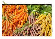 Carrots At The Market Carry-all Pouch