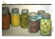 Carrots Vintage Kitchen Glass Jar Canning Carry-all Pouch