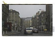 Cars And Buildings On The Streets Of Edinburgh Carry-all Pouch