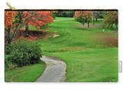 Cart Path Carry-all Pouch by Frozen in Time Fine Art Photography