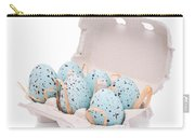 Carton Of Easter Eggs Carry-all Pouch by Amanda Elwell