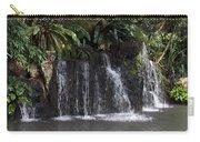 Cartoon - A Waterfall As Part Of An Exhibit Inside The Jurong Bird Park Carry-all Pouch