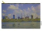 Cartoon - Buildings And Bridge On The Marina Reservoir Carry-all Pouch
