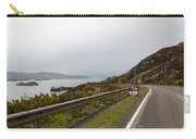 Cartoon - Road Along The Loch Alsh In The Scottish Highlands Carry-all Pouch