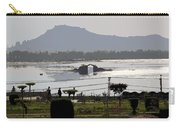 Cartoon - Shalimar Garden - The Dal Lake And Mountains In The Background In Srinagar Carry-all Pouch