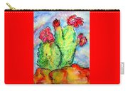 Cartoon Cactus Carry-all Pouch