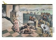 Cartoon Immigration, 1885 Carry-all Pouch