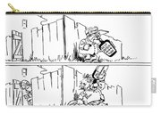 Cartoon: League Of Nations Carry-all Pouch