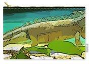 Cartoon Lizard Carry-all Pouch